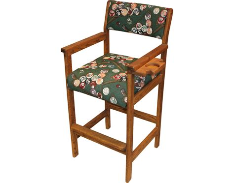 hippopotamus usa made billiards spectator chair solid oak