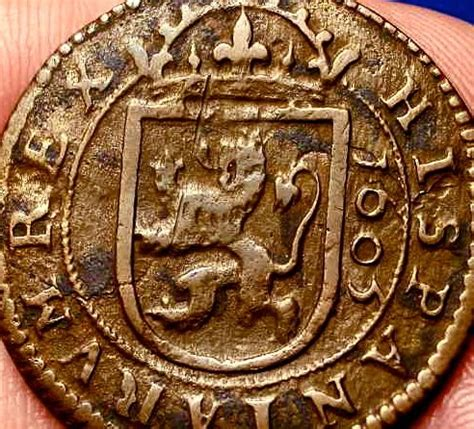spanish coins  images  pinterest