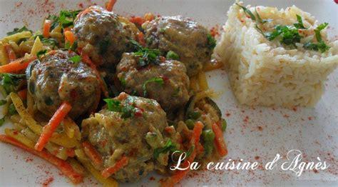 cuisiner boulette de viande boulettes de viande au curry la cuisine d 39 agnèsla