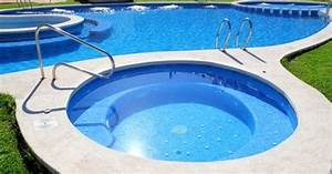 Piscine A Enterrer : un jacuzzi accol la piscine ~ Zukunftsfamilie.com Idées de Décoration