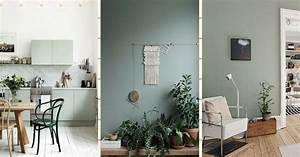 Peinture Vert De Gris : vert gris 15 fa ons d 39 adopter cette tendance d co ~ Melissatoandfro.com Idées de Décoration