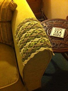Crochet Pattern For Armchair Covers by Free Crochet Chair Arm Cover Patterns Crocheted Arm