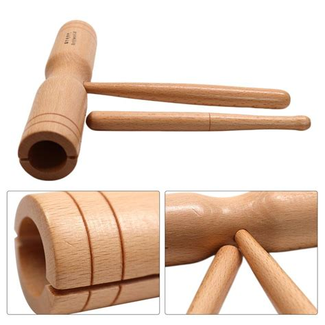 The fifth child in the family. Rhythm - Wood Block Percussion Double Tone with Dowel - LA Outback