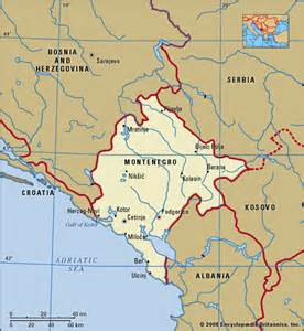 Where Is Montenegro Located On a Map