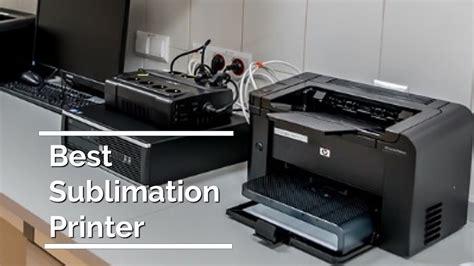 10 Best Sublimation Printer 2018 - 2019 - YouTube