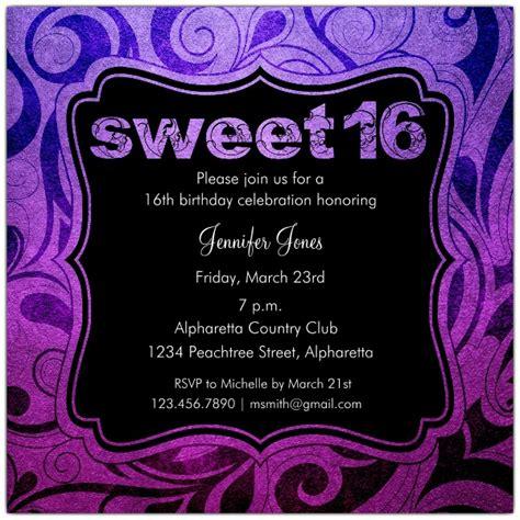 brilliant emblem sweet  birthday party invitations