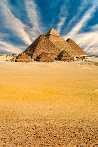 The Pyramids Of Giza Stock Photo - Download Image Now - iStock