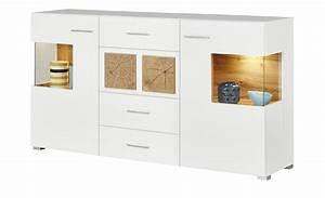 Kleiderschrank Höhe 170 : sideboard cortina breite 170 cm h he 94 cm wei online kaufen bei woonio ~ Orissabook.com Haus und Dekorationen