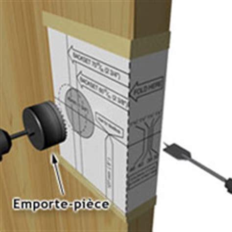 comment installer une poignee de porte exterieur installer une poignee ou une serrure 1 rona