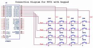 Interfacing Keypad With 8051