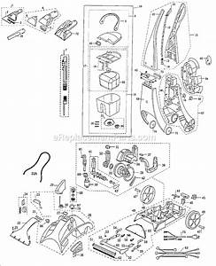 Bissell 1699 Parts List And Diagram   Ereplacementparts Com