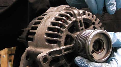 alternator clutch pulley diagnose  replacingvw audi