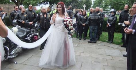 More Revs Than One At Our Biker Wedding