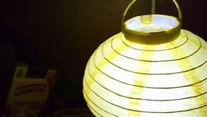 Lampions Mit Led : led lampion laterne 20 cm durchmesser mit batterie an aus ~ Watch28wear.com Haus und Dekorationen