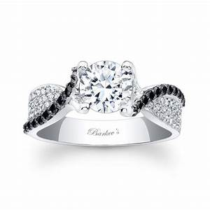 barkev39s black diamond engagement ring 7881lbk With wedding rings black diamonds