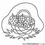 Berries Coloring Printable Basket Colouring Farm Coloringpagesfree sketch template