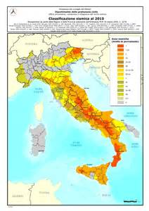 Italy Seismic Zone Classifications