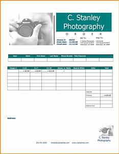 sample photography invoice hardhostinfo With videography invoice template