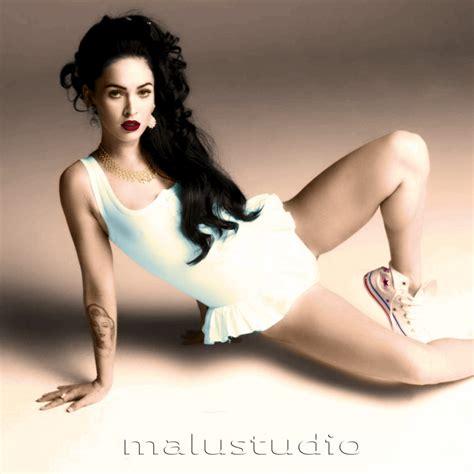 ColorizaÇao De Fotos De Celebridades Classicas Megan Fox