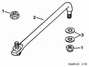 Evinrude 1996 115 - E115sledr  Steering Link Kit