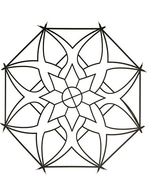 Simple mandala 87 New Free & exclusive Coloring pages