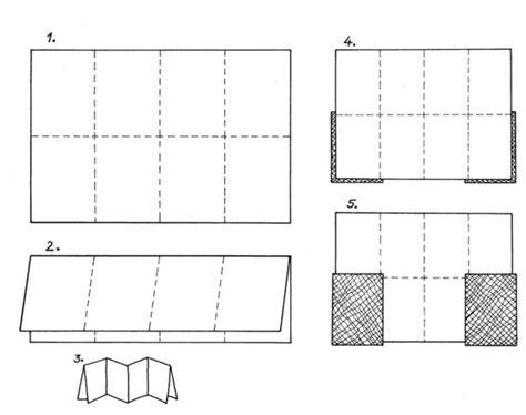 leporello basteln einfache bastelideen mit papier
