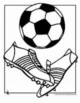 Soccer Coloring Ball Cup Activities sketch template