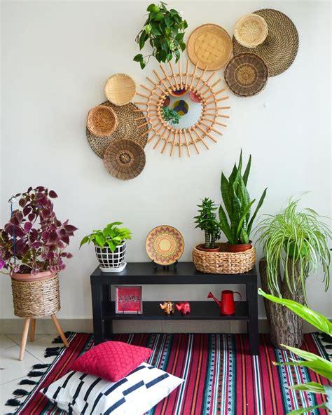 home african basket wall decor. Basket wall   Colourful living room decor, Pinterest room decor, Indian room decor