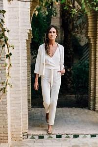 Combinaison Pantalon Femme Mariage : combinaison mariage civil ~ Carolinahurricanesstore.com Idées de Décoration