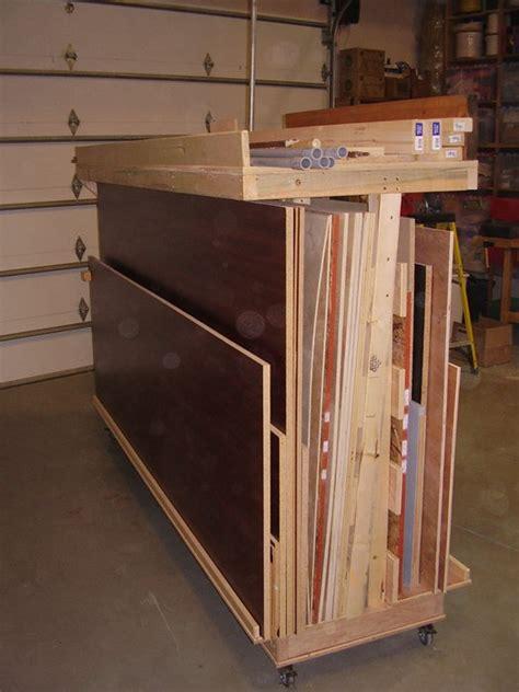 mobile lumber rack  tdmustang