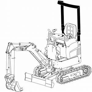 Bobcat 418 Compact Excavator Factory Service  U0026 Shop Manual