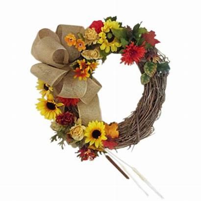 Wreath Fall Door 1366