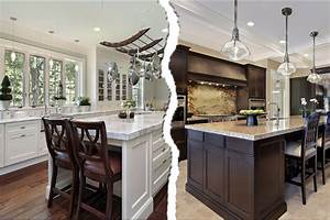 deciding light dark kitchen cabinets 2192