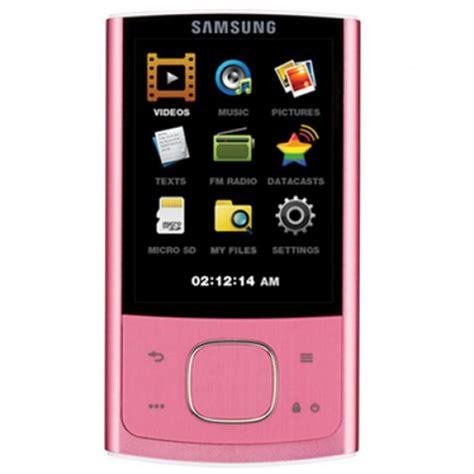 samsung mp3 player samsung r0 16gb mp3 player pink samr0pi16g electronics