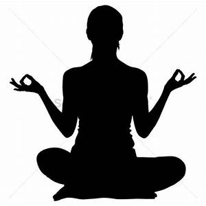 Image Gallery meditation silhouette