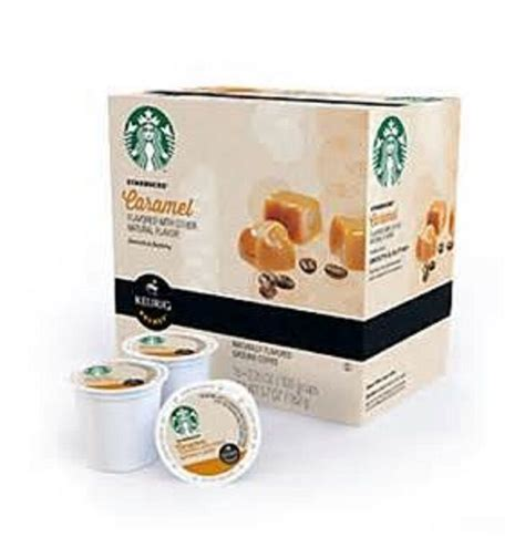 Starbucks caramel crème flavored coffee has lightly roasted arabica beans for a smooth taste with notes of rich caramel and vanilla*. Starbucks Caramel Light Roast Coffee Keurig K-Cups 16 ...