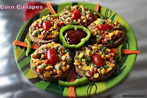 bread canape recipes corn canapes recipe bread recipes kiran 39 s food corner