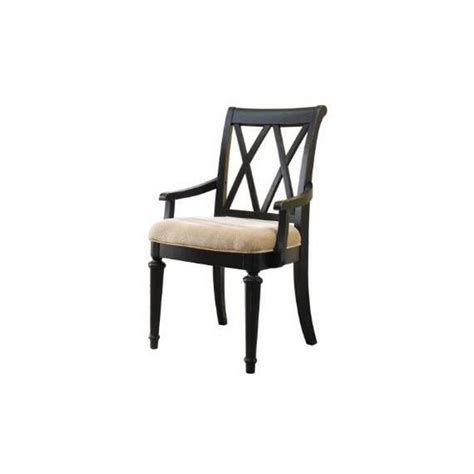 american drew camden dining arm chair in black 919 637