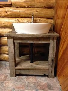 Macgirlver, Reclaimed, Wood, Bathroom, Vanity