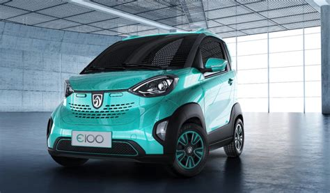 Electric Car by Baojun E100 Gm S Tiny Two Seat Electric Car For China