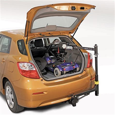 bruno space saver lift wheelchair lift for cars in