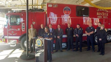 lexington    rescue  fire truck lexington herald