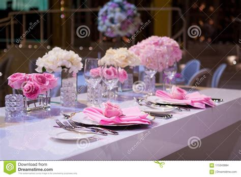 pink kitchen tablecloth beautiful table setting with a white tablecloth and pink