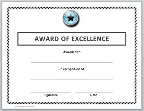 award certificate template 13 free certificate templates for word microsoft and