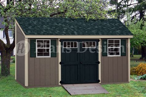 shed plans 10 x 16 storage shed plans 6 x 16 deluxe lean to slant