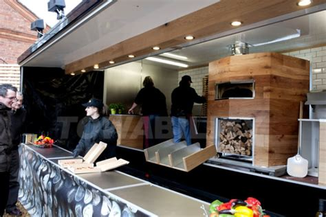 wood fired pizza trailer towability catering trailers