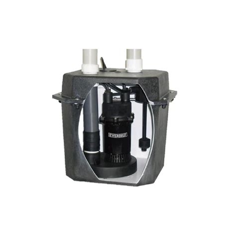 pre plumbed sink tray system sump pump 6 gallon laundry tray system sba025hpack in canada