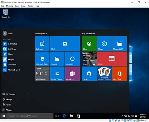 install windows   virtualbox