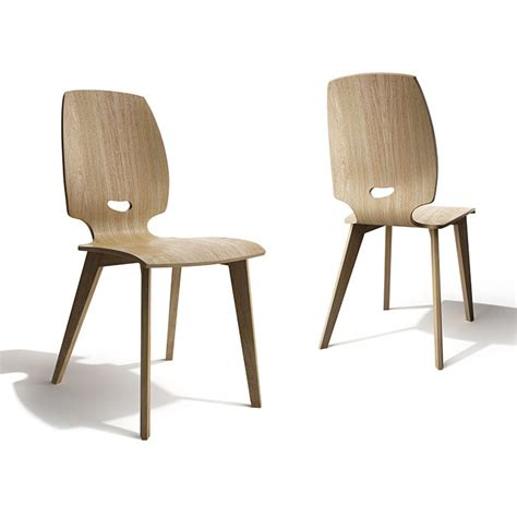 chaise salle à manger design chaise de salle à manger design en bois finn mobilier