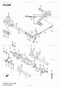 Suzuki Motorcycle 2007 Oem Parts Diagram For Gear Shifting  Model K5  K6  K7